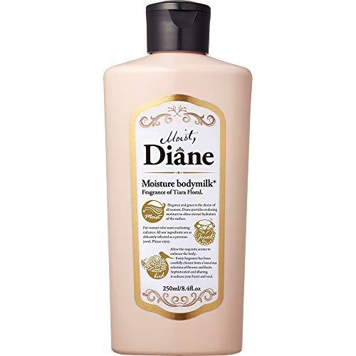 Moist Diane Body Milk 250ml - Tiara Floral (Green Tea Set)