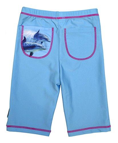 Swimpy meisjes zwembroek met uv-bescherming up 50+ dolfijn