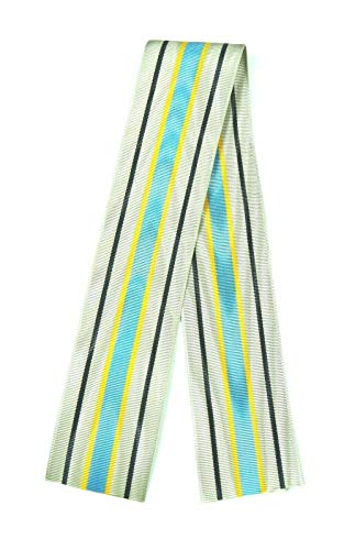 US Army ROTC JROTC Silver Instructor Medal Ribbon, 12 inches (1 Foot)