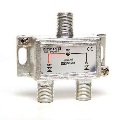 MICROELETTRONICA - Miscelatori demiscelatori per miscelare segnale SAT e TV 80267E