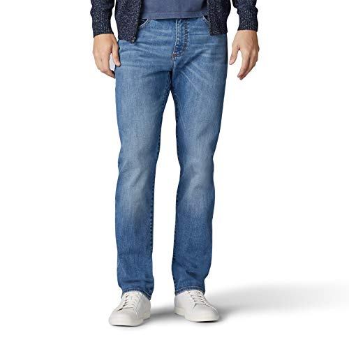 Lee Men's Performance Series Extreme Motion Athletic Fit Tapered Leg Jean, Bradford, 40W x 34L