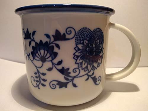 Bohemia Tina - Taza (porcelana, 0,25 L), diseño de cebolla