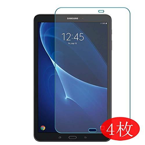 VacFun 4 Pezzi Trasparente Pellicola Protettiva Compatibile con Samsung Galaxy Tab A 10.1 2016 SM T580 T585 10.1', Screen Protector Protective Film Senza Bolle (Non Vetro Temperato) New Version