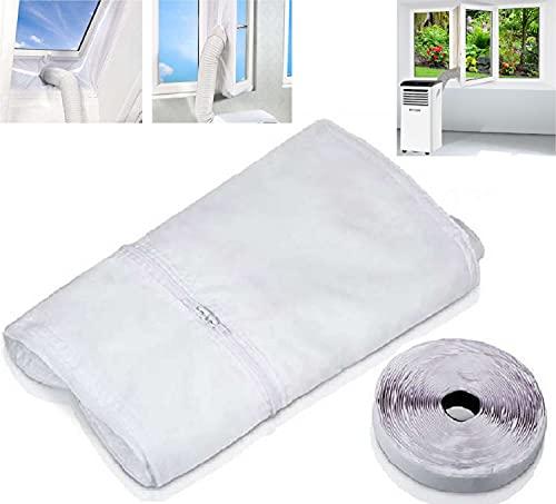 Universelle Fensterabdichtung für mobile Klimaanlagen | Fensterkit | Abdichtung für Klimaanlage | 400 cm