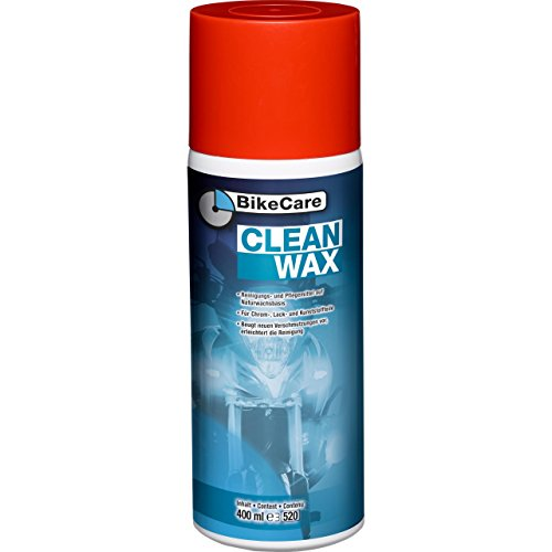 BikeCare Motorrad-Pflegemittel, Motorrad-Lackpflege Clean Wax, 400 ml, Multipurpose, Ganzjährig