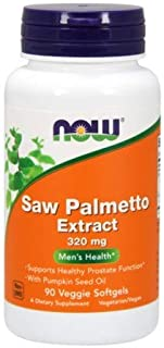 Now Foods Saw Palmetto Extract 320mg, 90 sgels ( Multi-Pack)