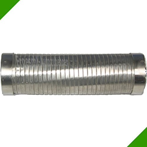 48x185mm Flexrohr Flexstück Flexteil Flexibles Rohr Auspuff Universal