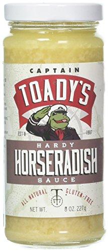 CAPTAIN TOADYS Horseradish Sauce, 8 OZ