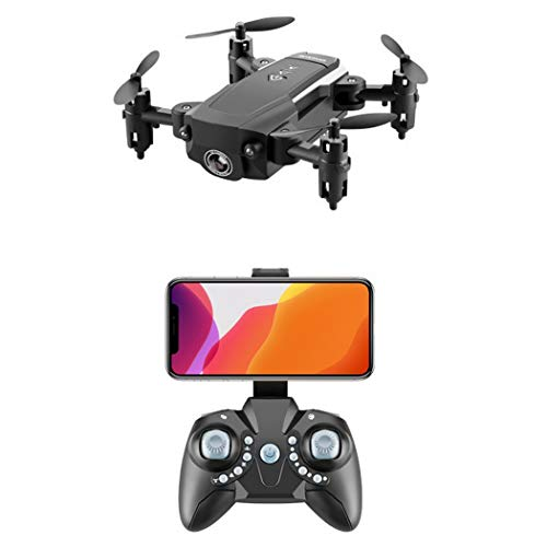 RAPLANC Mini Luftaufnahmen tragbare Drohne, Falten High-Definition-Luftaufnahmen, Ultra-Lange Akkulaufzeit und Fallschutz für Kinder Geschenk 4K Ultra-klare Version