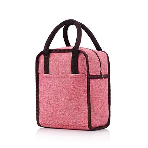 Z-Cooler box isoleringsväska, multifunktionsbärbar hög kapacitet isolering konservering kylning lätt att bära picknick isolerad väska (färg: rosa)