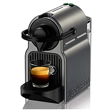 Nespresso C40-US-TI-NE Inissia Espresso Maker, Titan (Discontinued Model)