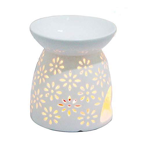 Preisvergleich Produktbild Wifehelper Teelichthalter für die Nacht,  Keramik,  für Essenz,  Duftkerze,  Aromatherapie,  Ofen,  Öl,  Diffusor,  Teelichthalter 1