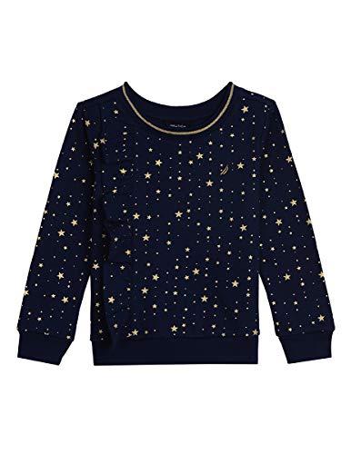 Nautica Mädchen Long Sleeve Holiday Fashion Tops Hemd, Marineblau, 6X