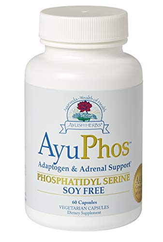 Ayush Herbs AyuPhos, Certified Organic Ayurvedic Herbal Supplement, Powerful Memory & Cognition Support, Benefits Mood, Athletic Recovery, Doctor Formulated, 60 Count