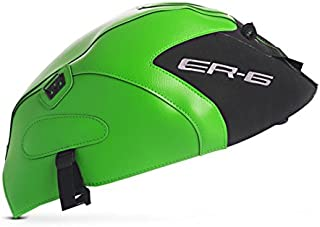 BAGSTER Tank Protector-Matt Black/Green (Only for The Er6 N) (