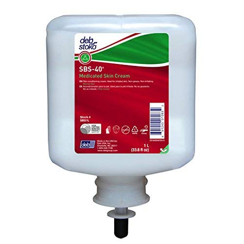 Deb Group 1 Liter Refill SBS 40 Scented Medicated Skin Cream (6)