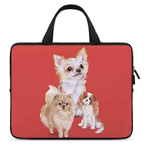 Laptop Carrying Bag,MacBook Carrying Bag,Notebook Computer Briefcase,10inch,Cover for Apple/MacBook/HP/Acer/Asus/Dell/Lenovo/Samsung,Color of Mammal Vertebrate Dog Canidae Whiskers