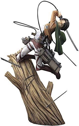 Mdcgok Attaque sur Titan Figure Levi Ackerman 3 Stlye Figure Anime Figure Action Figure (Couleur: C)