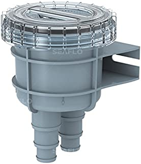 SEAFLO Raw Cooling Water Intake Basket Strainer for Seawater Marine & Boat