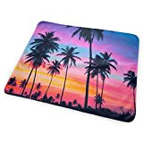 Voxpkrs Tropical Palm Tree Wallpaper Baby Crib Pee Changing Pad Mat Mattress...