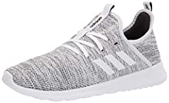 Stretchy, mesh running shoes with extra cushioning for all-day comfort Stretchable mesh upper for breathability Combined Cloudfoam midsole and outsole for step-in comfort and superior cushioning Cloudfoam memory sockliner molds to the foot for superi...