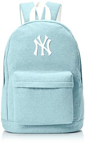 [メジャーリーグベースボール] リュック MLB ロゴ 刺繍 スウェット YK-MBBK05 杢ブルー One Size