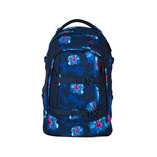 SATCH Waikiki Blue Kinder-Rucksack, 45 cm, 30 Liter, Flowers