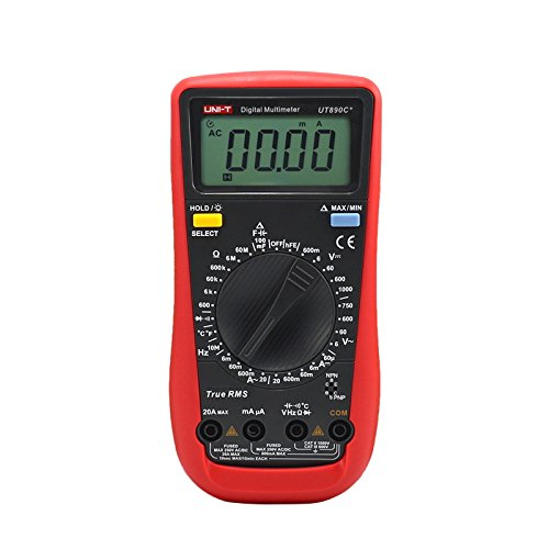 UNI-T UT890C+ True RMS Multimeter LCD Digital Display Elektrisches Werkzeug Amperemeter Multimeter