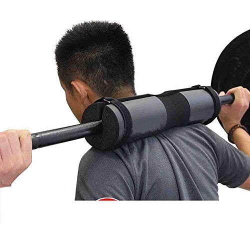 BXUFEI Squat Pad Barbell Pad,Neck & Shoulder Protective Pad Support , Barbell Pad for Squats, Lunges & Hip Thrusts,Fit Standard and Olympic Bars Perfectly