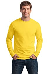 Men's Yellow Long Sleeved Shirt