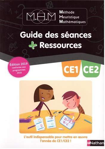 Méthode Heuristique de Mathématiques Pinel CE1/CE2 - Guide pédagogique - 2019