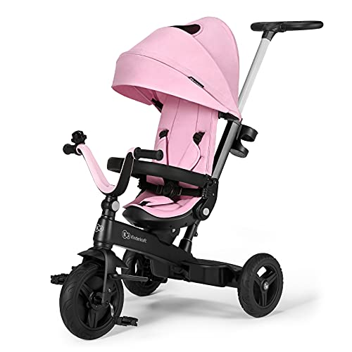 Triciclo Evolutivo Twipper de Kinderkraft (Rosa)