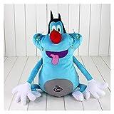 JSJJARF Peluche Cartone Animato da 40 cm e Gli scarafaggi Giocattolo di Peluche Grasso Gatto farcito Bambola Animale Regalo di Compleanno per Bambini