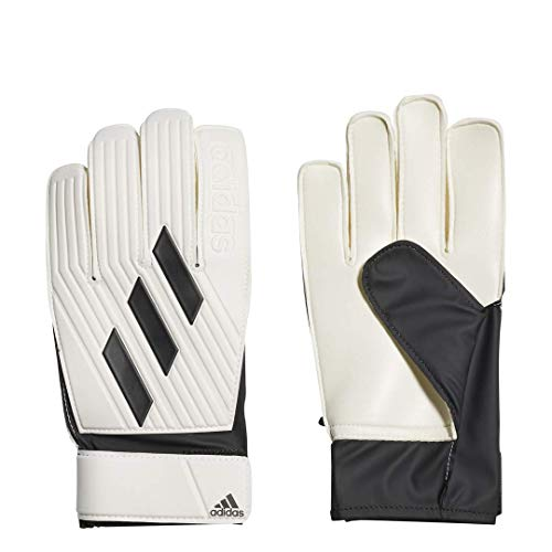 adidas unisex-adult Tiro Club Goalkeeper Gloves White/Black 8