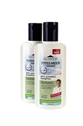 Salthouse Totes Meer Therapie Anti-Juckreiz Shampoo 250ml, Menge:2er Pack