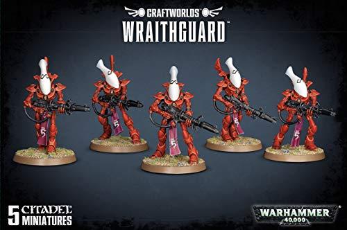 "GAMES WORKSHOP 99120104053"" Craftworlds Wraithguard Miniature"