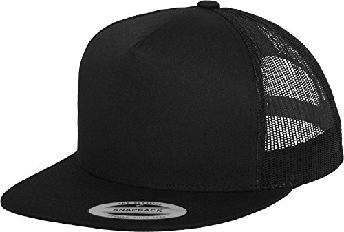 Flex fit Classic Trucker Black One Size Casquette Unisex-Adult