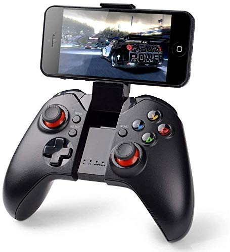 PowerLead Gapo Bluetooth Senza Fili Classico Gamepad Game Controller (con Funzione Mouse) per Samsung HTC Moto Addroid TV Box Tablet PC (9037)
