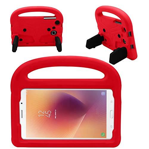HHF Pad Accesorios para Samsung Galaxy Tab A A6 7.0 Pulgadas, Funda de Silicona a Prueba de Golpes para niños para Samsung Galaxy Tab A A6 7.0 Pulgadas 2016 SM-T280 SM-T285 (Color : Rojo)