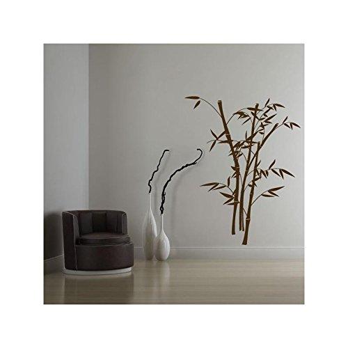Sticker Bambou 2 - Bordeau, Orientation - Normal, Taille - 63 x 80 cm