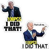 200 Pcs I Did That Stickers I Did That Funny Car Bumper Helmet Stickers I Did That Decal Humor Stickers