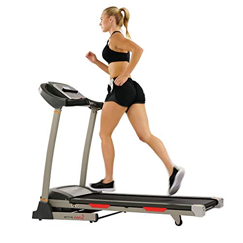 Sunny Health Portable Treadmill With Auto Incline