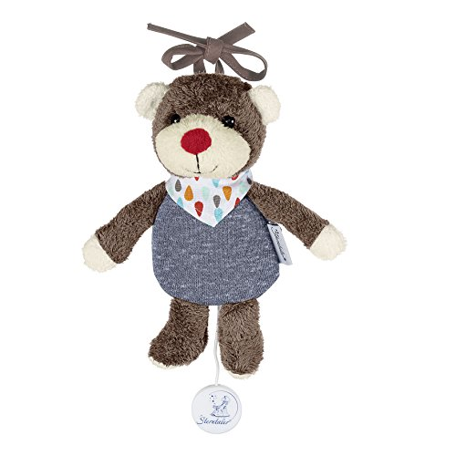 Sterntaler Mini Peluche Musicale Bobby l'Ours