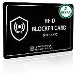 RFID Blocker - Tarjeta Bloqueo RFID para Tarjetas de Crédito y Débito – Una Sola Tarjeta Protege tu Cartera, Pasaporte – Di Adiós a Las Fundas – Tarjeta Protección RFID