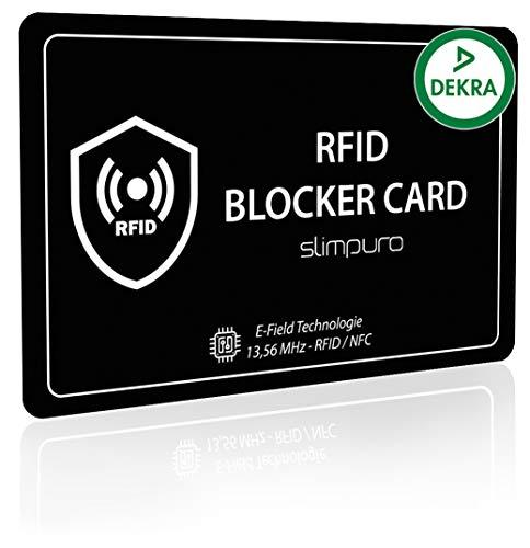 POWR 2 x Rfid Card ProtettoreSegnale Di Blocco Cartesenza contatto.