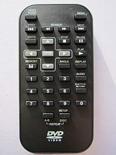 Echte afstandsbediening voor Goodmans GDVD80W12 draagbare dvd-speler