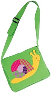 Furnis 25 x 20 cm Snail Children Bag (Multi-Colour)