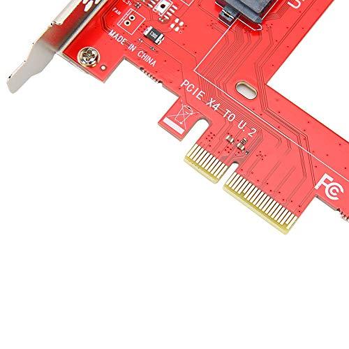 WESE Tarjeta Adaptadora PCIE Tarjeta Adaptadora De Disco Duro, Sin Pérdida De Velocidad No Requiere Energía Tarjeta Vertical para 7/10