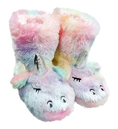 dressfan Lindas Unicornio Zapatillas Peluche Zapatillas Animale Zapatillas Unicornio Zapatillas niña Interior Zapatillas Espuma Zapatillas Niños Niñas 37 🔥