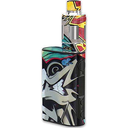 MightySkins Skin Compatible with Eleaf iStick QC Kit – Graffiti Wild Styles | Protective, Durable, and Unique Vinyl Decal wrap Cover | Easy to Apply, Remove, and Change Styles | Made in The USA